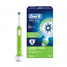 Электрическая зубная щетка Oral-B 400/D16.513 CrossAction Green
