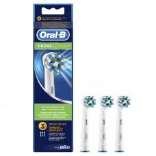 Насадки для электрических зубных щеток Oral-B CrossAction - 3 шт