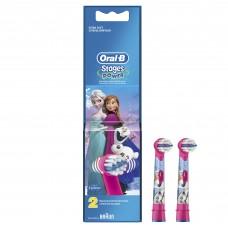 Детские насадки для электрических зубных щеток Oral-B Frozen - 2 шт.