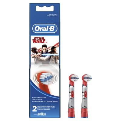 Детские насадки для электрических зубных щеток Oral-B Star Wars - 2 шт