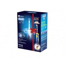 Электрическая зубная щетка ORAL-B Genius 8000/D701 и детская зубная щетка Mickey