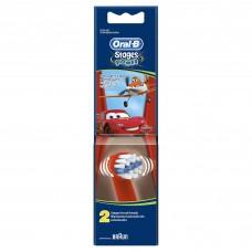 Детские насадки для электрических зубных щеток Oral-B - 2 шт. В ассортименте.