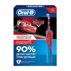Электрическая зубная щетка Oral-B Vitality Stages Power Cars D12.513K с футляром