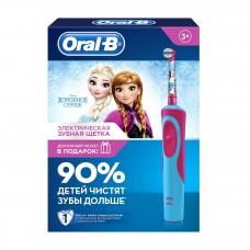 Электрическая зубная щетка Oral-B Vitality Stages Power Frozen D12.513K с футляром