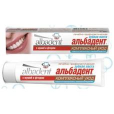 Зубная паста Альбадент Комплексный уход с мумие и фтором