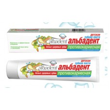 Детская зубная паста Альбадент Противокариесная