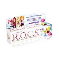Зубная паста Рокс Rocs Фруктовый рожок Детская